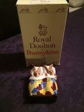 Royal Doulton Bunnykins DB15 Sleepytime Boxed