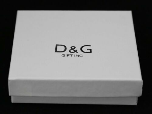 DG Mens Silver Stainless-Steel Panther leopard 45mm CZ Iced-Out Charm Unisex*BOX