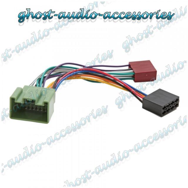 Iso Wiring Harness Connector Adaptor Car Stereo Radio Lead