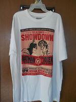 Dc Comics Batman Vs. Joker Showdown Shirt Blue T-shirt M-xl