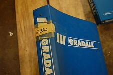 Gradall G3w Wheeled Excavator Parts Manual Book Catalog Spare List 1991 Digger