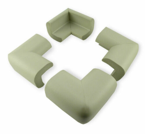 4 x Baby Safety Corner Protection - Grey Desk Table Furniture Foam