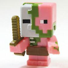 Minecraft Mini Figure Series 2 Stone Series Loose Zombie Pigman