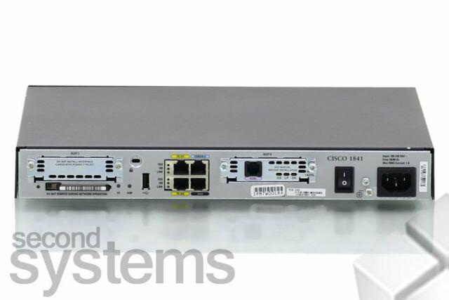 Cisco 1841 Integrated Services Routeur 1800 Séries Wic 1ADSL - Cisco1841