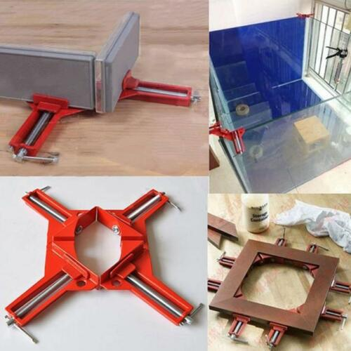 90 Degree Right Angle Miter Picture Frame Corner Clamp Holder Woodwor QK