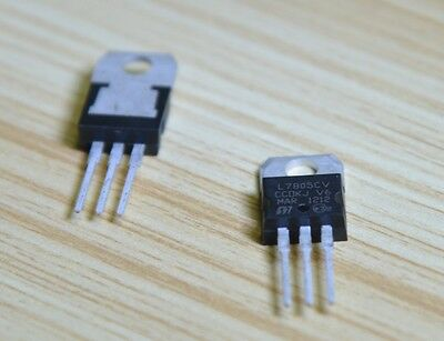10Pcs L7805 LM7805 7805 TO-220 5V 1.5A Voltage Regulator IC