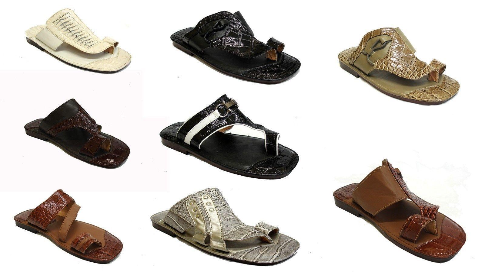 men youth boys sandals leather look flip flops slip on sandals boys beach shoes 1f47d7