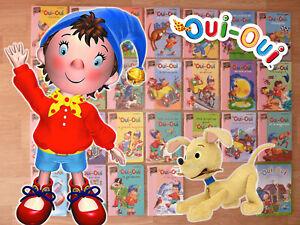 Details Sur Lot 25 Livres Oui Oui Ma Premiere Bibliotheque Rose Tbe Occas Livre 1 Dvd