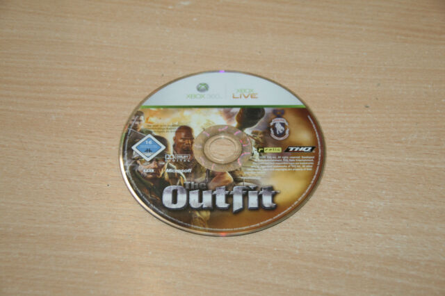 The Outfit (Microsoft Xbox 360, 2006, DVD-Box) nur CD USk 16