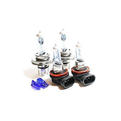 Suzuki Swift MK3 55w Super White Xenon High//Low//Canbus LED Side Headlight Bulbs