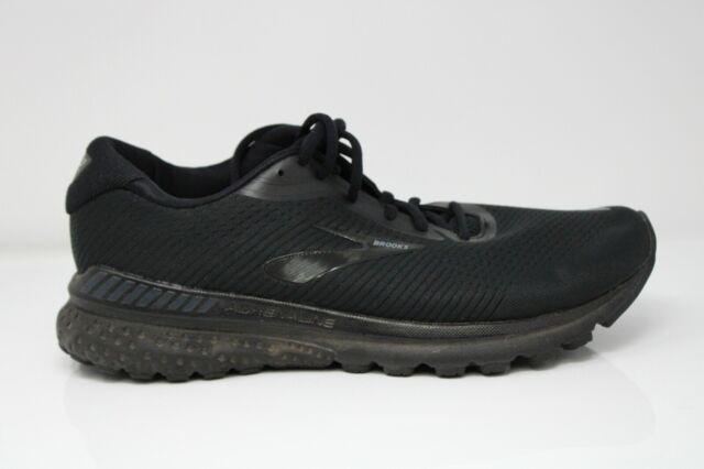 Brooks Mens Adrenaline GTS 20 1103071D040 Black Running Shoes Lace Up 12.5 D