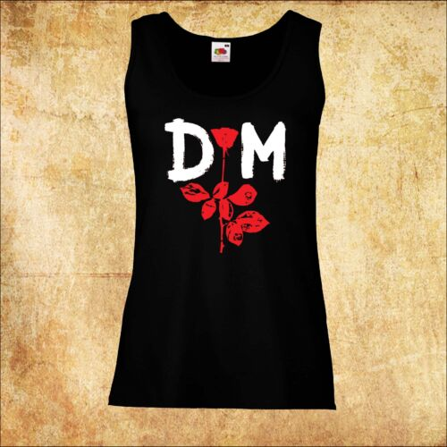 WOMEN//DAMEN  VEST T-SHIRT DEPECHE MODE 3 ROCK TOP TANK TEE