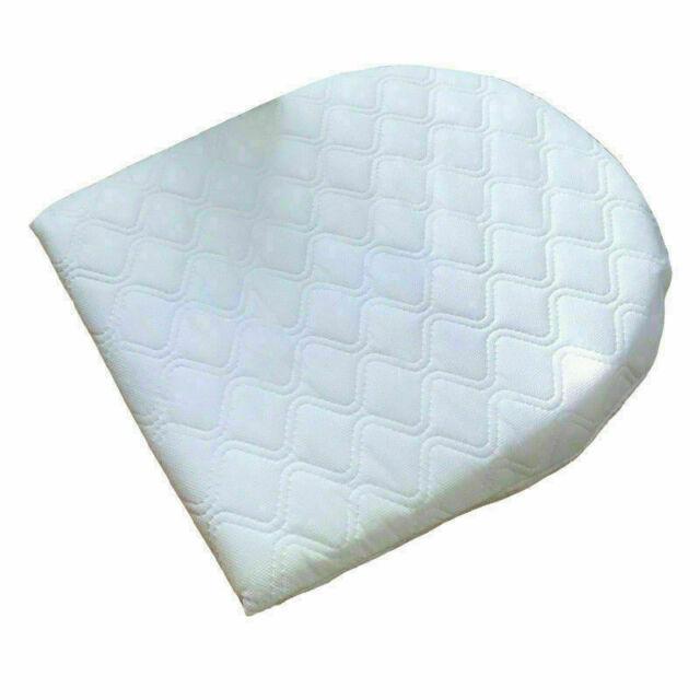 Anti Reflux Baby Wedge Pillow Colic Cushion For Pram Crib Cot Flat Head Foam UK