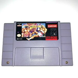 Super-Street-Fighter-II-2-Turbo-Nintendo-SNES-Game-Tested-Working-amp-Authentic