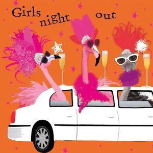20-SERVIETTEN-NAPKINS-GIRLS-NITH-OUT-25X25-MADELSABEND-FLAMINGOS-SEKT-LIMOUSINE