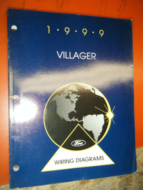 1999 Mercury Villager Original Factory Wiring Diagrams