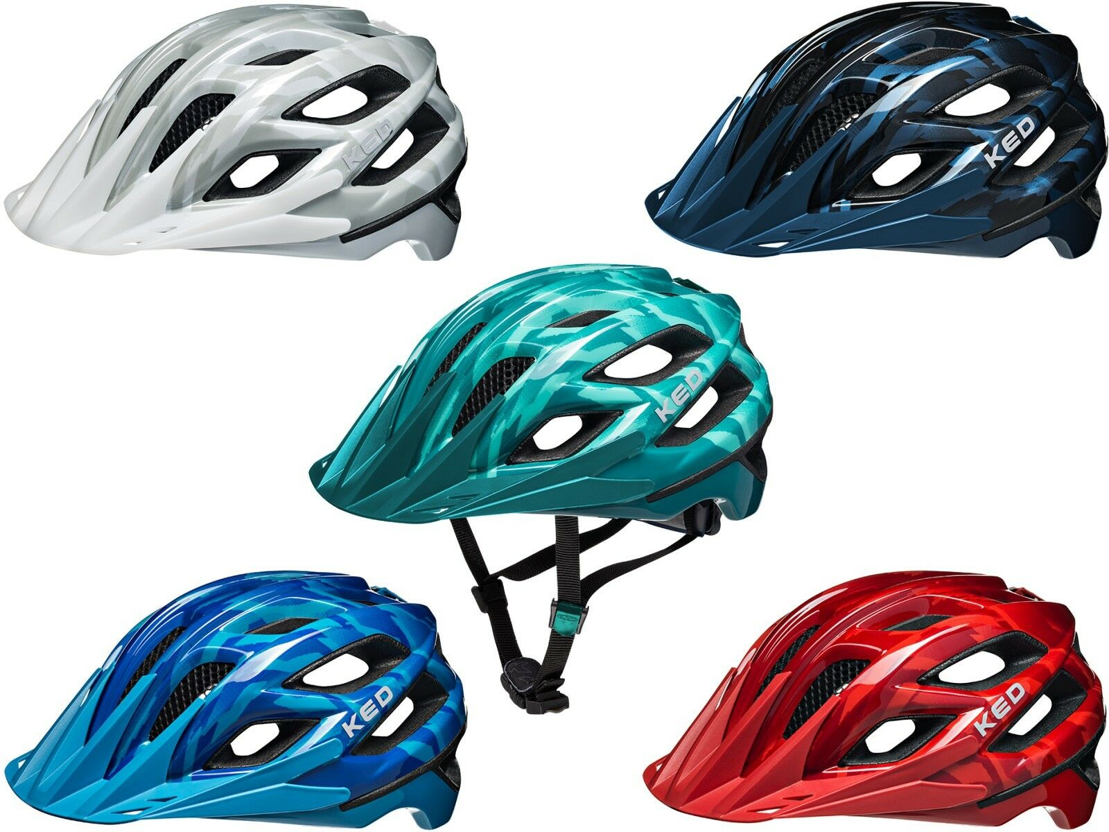 KED Helmet Companion Bicycle Helmet Youth Adult Various Colours-NEW MOD. 2019