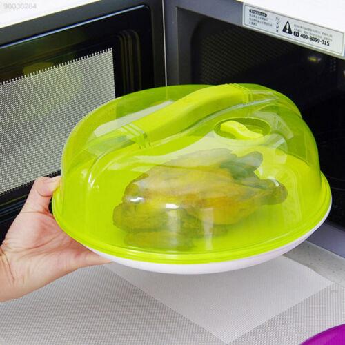 445F Anti-Sputter-Deckel Deckel Für Mikrowellenheizung Transparent Lila Grün