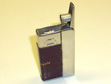 RICARDO SEMI-AUTOMATIC LIGHTER W. LEATHER COAT - SIMILAR IMCO - 1960 - AUSTRIA