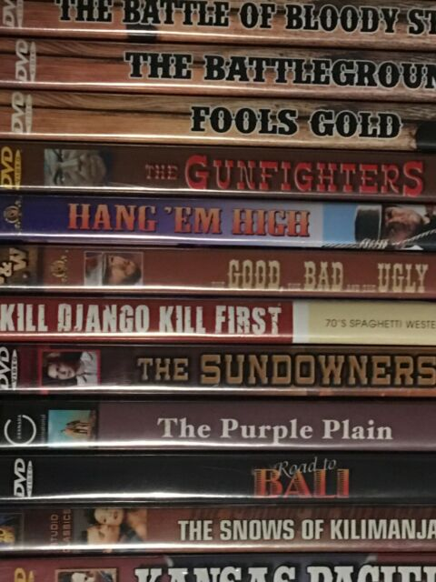 DVD Movie Classics, Mostly Westerns - Make Your Selection