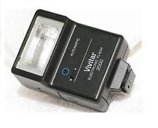 Vivitar 2000 2500 2600 Flash Pentax K1000 Olympus OM10 Nikon FG Minolta X700