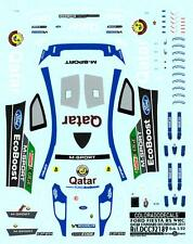 Colorado Decals 1/32 FORD FIESTA RS WRC QATAR STANDARD DECORATION 2013