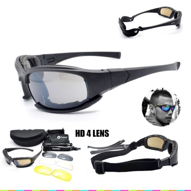 77a9a62243 Frequently bought together. Daisy X7 Military Tactical Goggles Motorcycle  Riding Glasses Sunglasses Eyewear