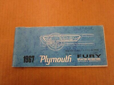 Motors Other Car Manuals research.unir.net 1967 67 PLYMOUTH ...