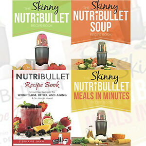 The-Skinny-Nutribullet-Collection-4-Books-Set-Pack-Recipe-Book-Soup-Recipe-Book