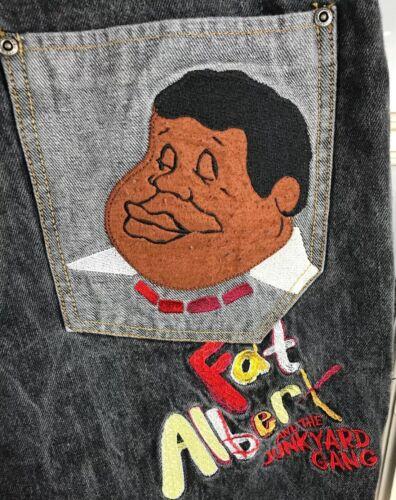 Albert Vet Platinum Jeans Hiphop 42x34 Denim Euc Fubu Maat Heren Baggy Dark EbDHW2Ye9I