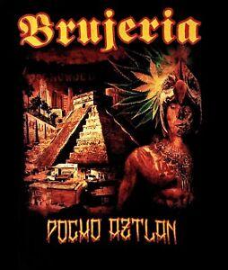 BRUJERIA-cd-cvr-POCHO-ATZLAN-Official-SHIRT-XXL-2X-New-viva-mexico-cabrones
