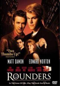 Rounders-DVD-with-Matt-Damon-Like-NEW