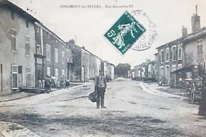FRANCE-54-COLOMBEY-LES-BELLES-CPA-RUE-ALEXANDRE-III