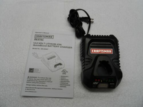 Model 320.29497 Craftsman Nextec 12-volt Lithium Ion Battery Charger QuickBoost
