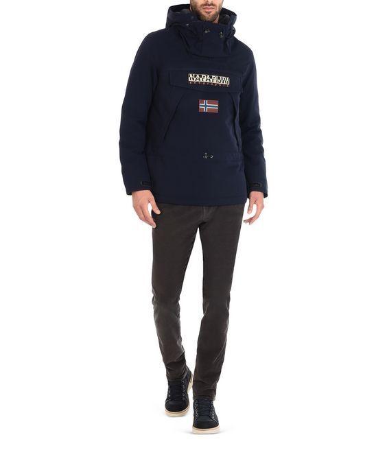 Hombre Napapijri Skidoo 1 chaqueta - azul marino manga larga capucha ... 9ad2184dcd9