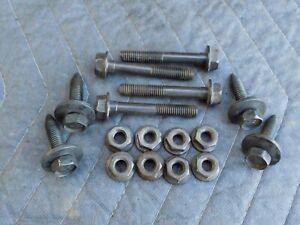 K-member-Engine-Cradle-to-Frame-Support-Bolt-amp-Nut-Set-1993-Corvette-C4