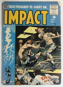 IMPACT-5-GOLDEN-AGE-COMICS-1955-E-C-AN-ENTERTAINMENT-COMIC-JACK-DAVIS