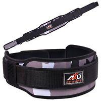 Ard Champs™ Neoprene Weight Lifting Belt Back Support Belt 5 Wide White Camo