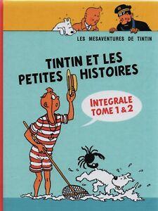 Pastiche-Tintin-Tintin-et-les-petites-histoires-Integrale-tome-1-amp-2-HC-2017