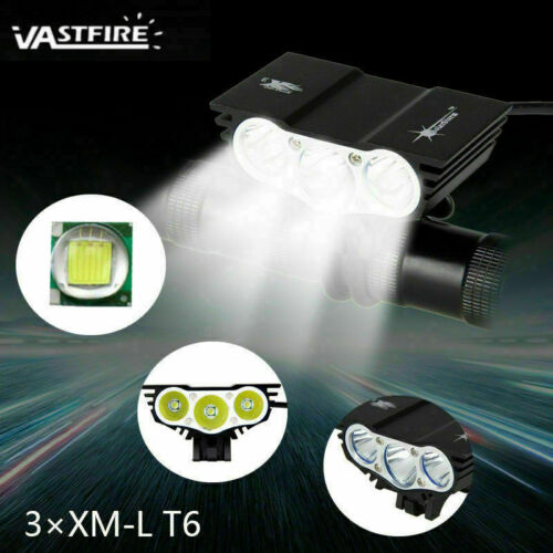 SolarStorm 20000LM X2//X3 LED MTB Bike Headlight Rechargeable Lamp Waterproof
