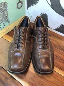 Sandro Comfort Walk Brown Leather