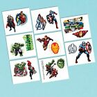 Avengers Party Supplies Favours Tattoo Sheet ( 8 Sections Cut in to 16 )