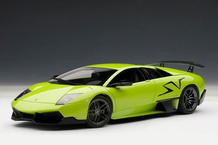 Lamborghini Murcielago LP670-4 Sportverein Verde Ithaca Verde By Autoart 1:18 74627 Nuevo
