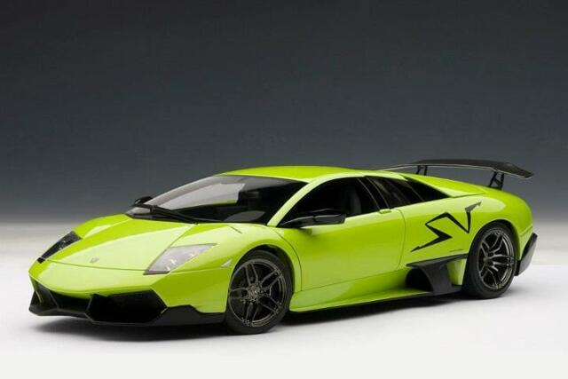 Autoart Lamborghini Murcielago Lp670 4 Sv Ithaca Green 1 18 For Sale