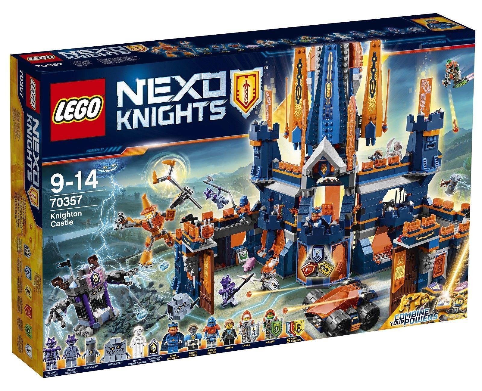 LEGO NEXO KNIGHTS - KNIGHTON CASTLE (70357) - BRAND NEW RETIRED
