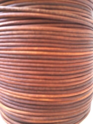 Antique Quality Leather Natural Brown /& Black Cord 2m-5m Available Thong Cord
