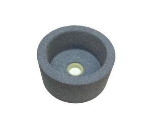RDGTOOLS-4-034-100MM-GREY-CUP-GRINDING-WHEEL-20MM-BORE-TOOL-SHARPENING