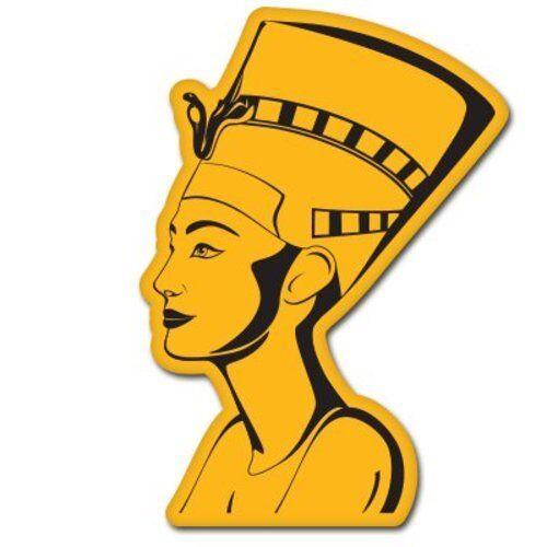 Queen Nefertiti Egyptian Car Vinyl Sticker SELECT SIZE