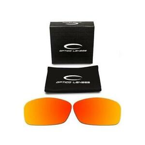 a7494de1fa9b9 Details about Optico Replacement Polarized Lenses for Oakley Hijnix Sunglasses  Sport Red
