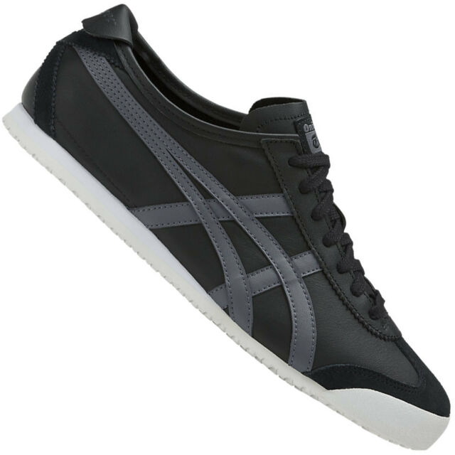 more photos 7bf8c 7f85a Onitsuka Tiger Mexico 66 Men's Trainer Asics Leder Trainers Low Shoes New
